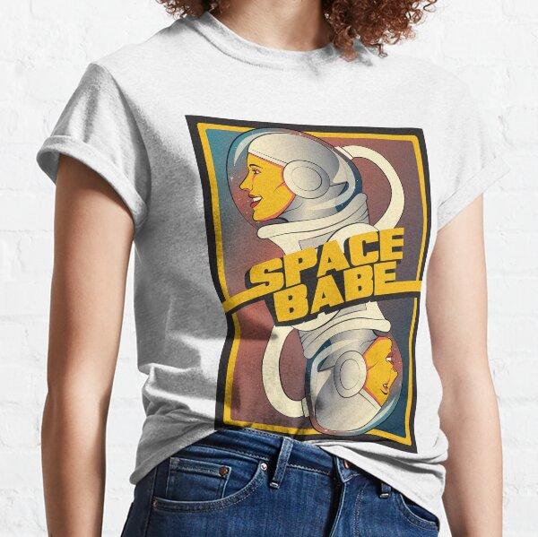 Space Babe T-shirt classique