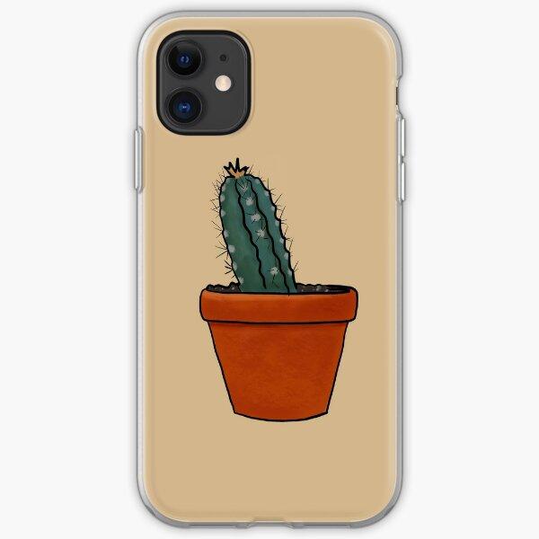 Terra-cotta Cactus iPhone Soft Case