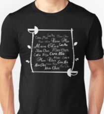 Cara Mia Mon Cher Unisex T-Shirt