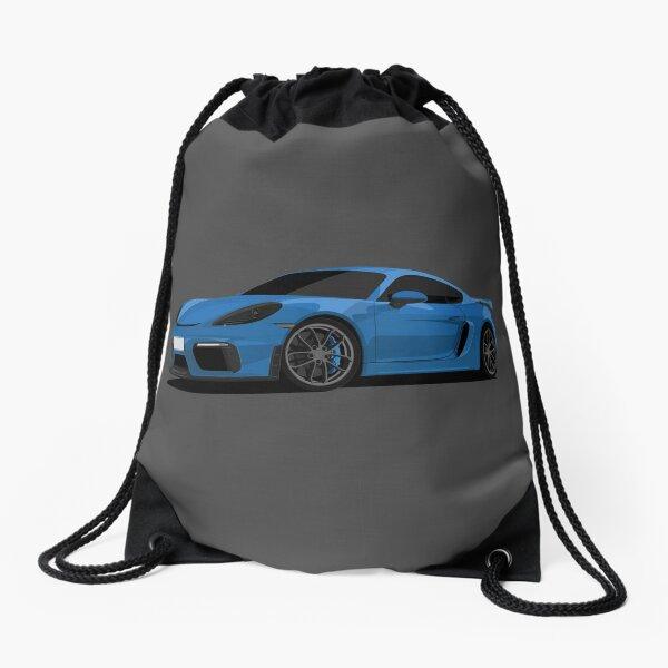 Porsche Cayman GT4 Drawstring Bag
