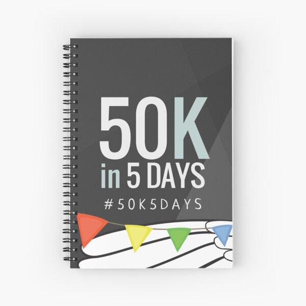 #50K5DAYS Spiral Notebook