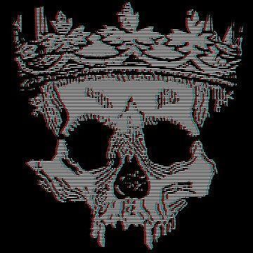 VHS Skull by GhostGravity