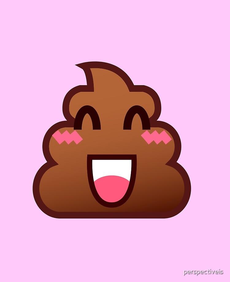 Cute Emoji Poop Kawaii Emoji Poo Ipad Case Skin By Perspectiveis Redbubble