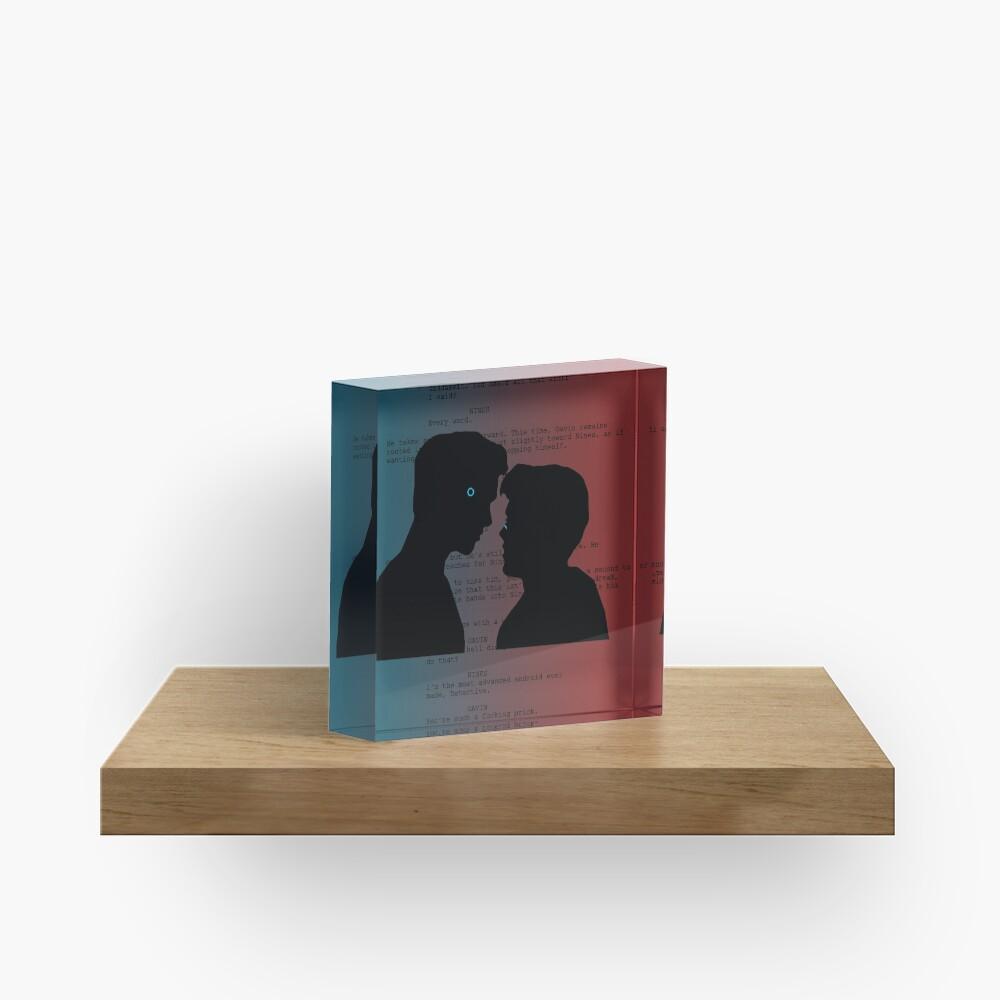 Reed900 Kiss Scene Script Acrylic Block