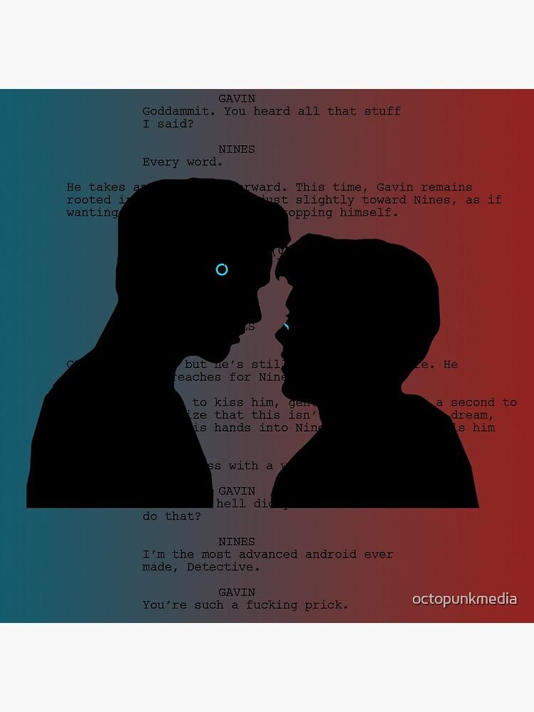 Reed900 Kiss Scene Script by octopunkmedia