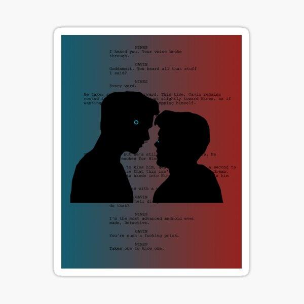 Reed900 Kiss Scene Script Sticker