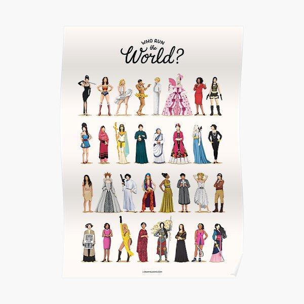 ¿Quien corre el mundo? Póster