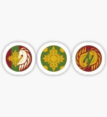 The Shields of Rohan Set Sticker
