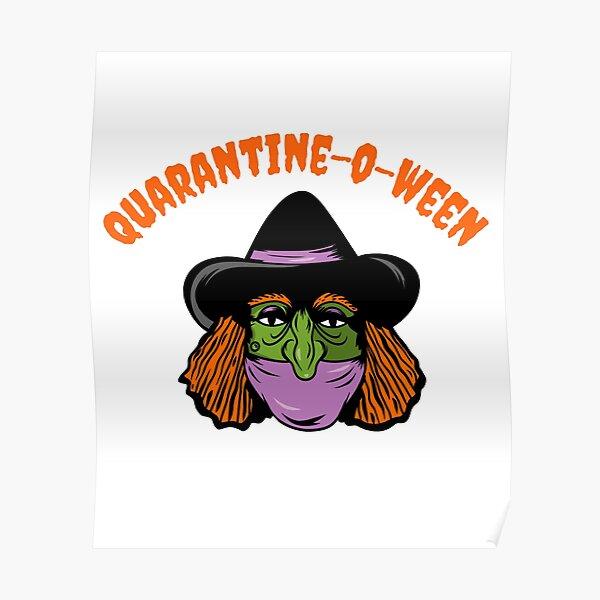 Quarantine o ween Poster