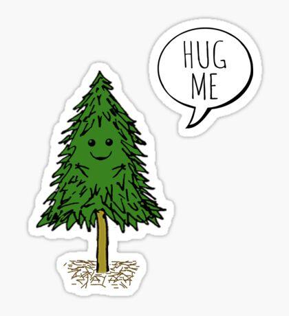 Treehugger Sticker