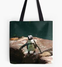 """""""Back-footed Penguin"""" by Carter L. Shepard""""  Tote Bag"""