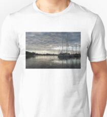 Soft Sky with Two Birds T-Shirt