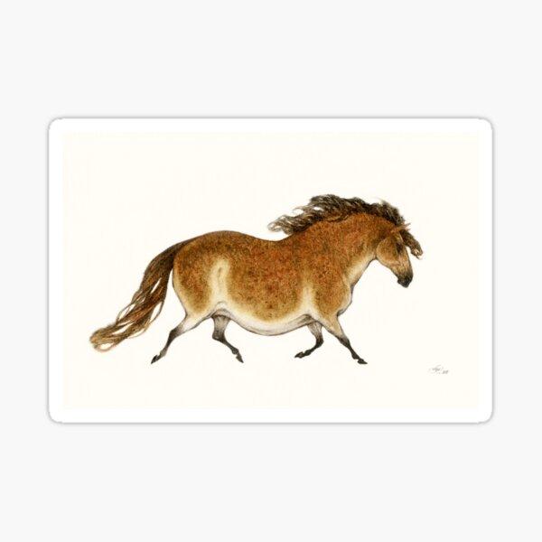Pudgy Horse Lascaux Tribute 1 Sticker