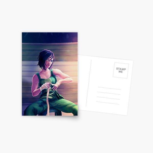 Korra Alone Postcard