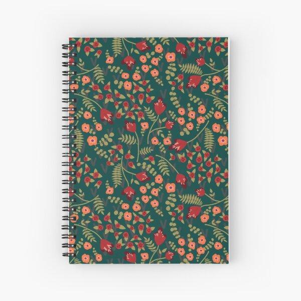 Storybook Garden in Gretel Spiral Notebook