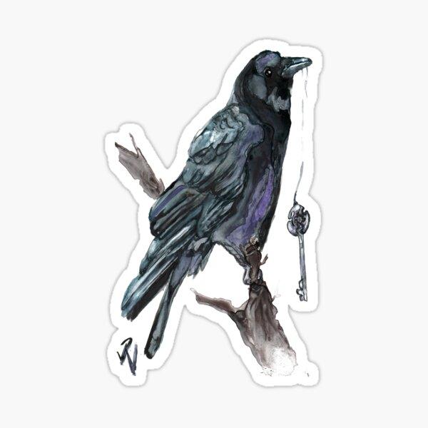 Crow Key; Invitation to the Underworld Sticker