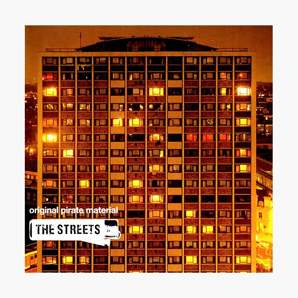 Original Pirate Material, U.K. Garage, Has It Come To This?, Streets, 2002, Throwback,  Photographic Print