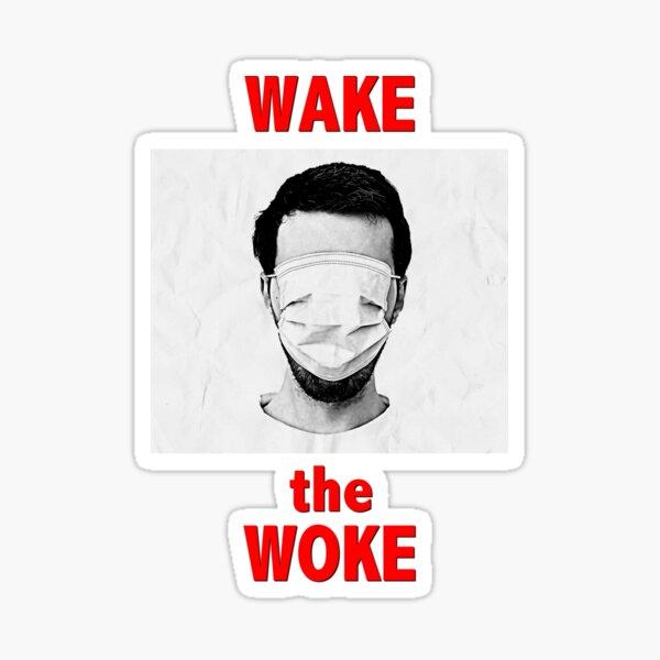 Wake the Woke Sticker