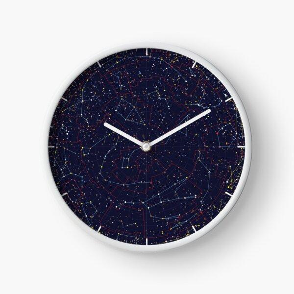 Night Constellations Clock