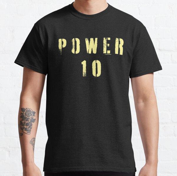 Crew Team Rowing Row Coxswain Power 10 Classic T-Shirt