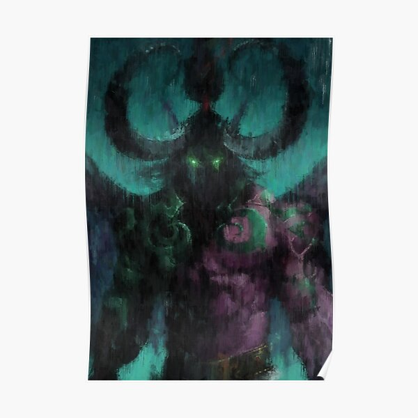Illidan Hurlorage - Warcraft Poster