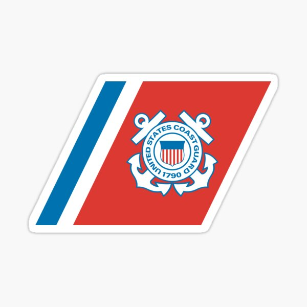 Service Mark of the United States Coast Guard  Sticker