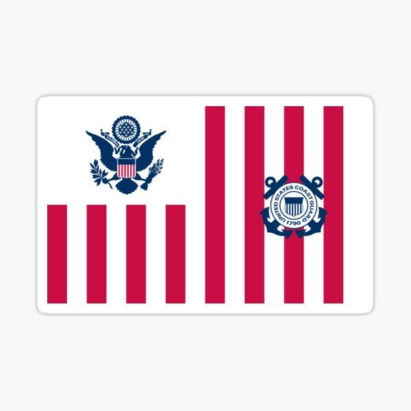Ensign der US-Küstenwache Sticker