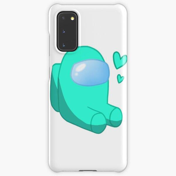 Among Us - Cyan Crewmate - Among Us Game Samsung Galaxy Snap Case