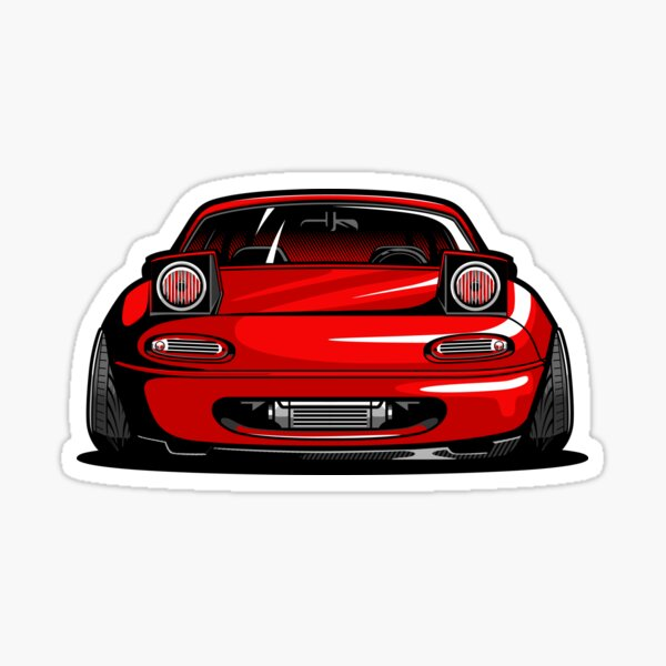 MX5 Miata Sticker