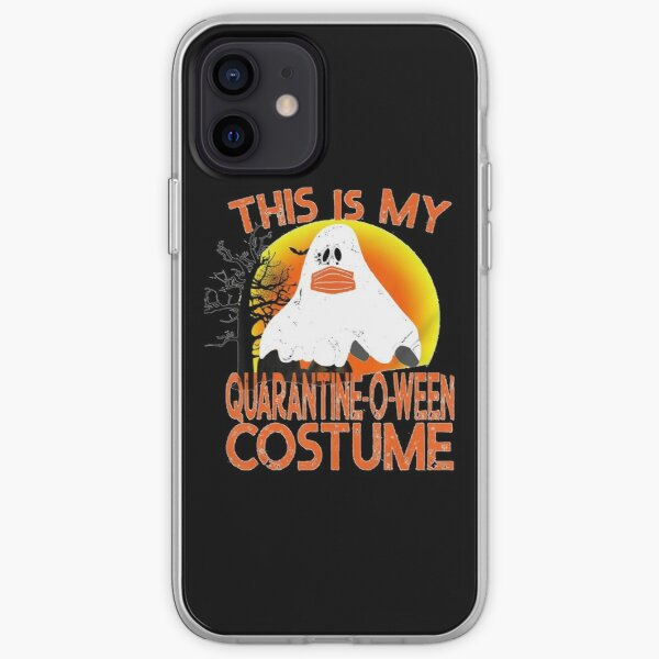This is My Quarantine-o-ween Costume, funny Halloween 2020 iPhone Soft Case