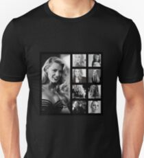 Blake Lively black and white Slim Fit T-Shirt