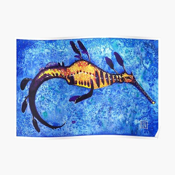 Weedy Sea Dragon Poster