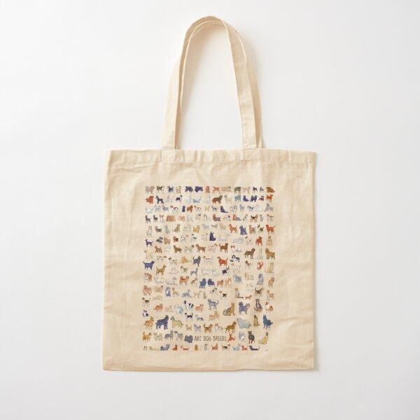 Every AKC Dog Breed Cotton Tote Bag