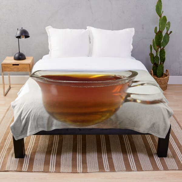 A nice cup of tea Throw Blanket