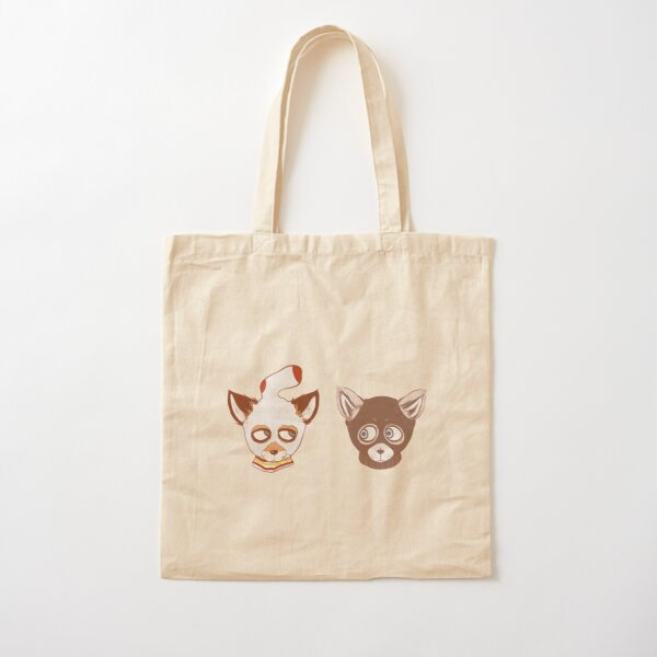 Ash and Kristofferson (Mask) Cotton Tote Bag