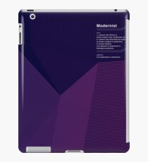 Modernist iPad Case/Skin