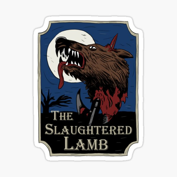 The Slaughtered Lamb Sticker