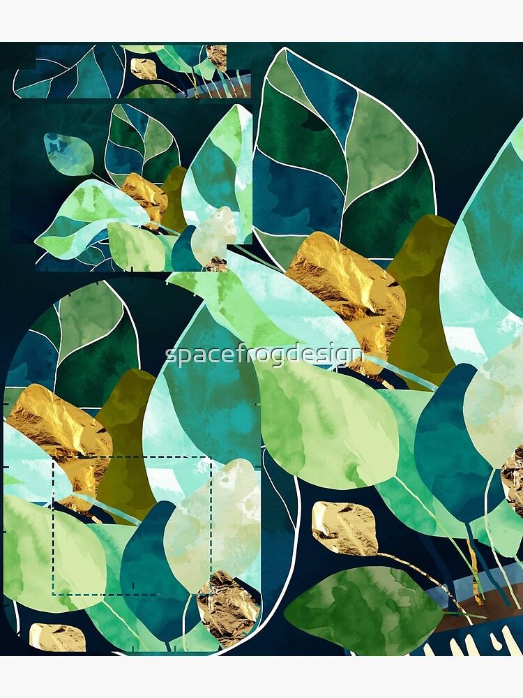 Indigo Plant I by spacefrogdesign