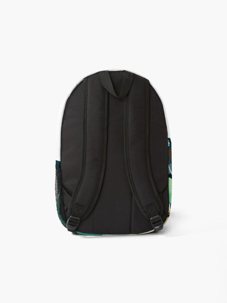 Alternate view of Indigo Plant I Backpack