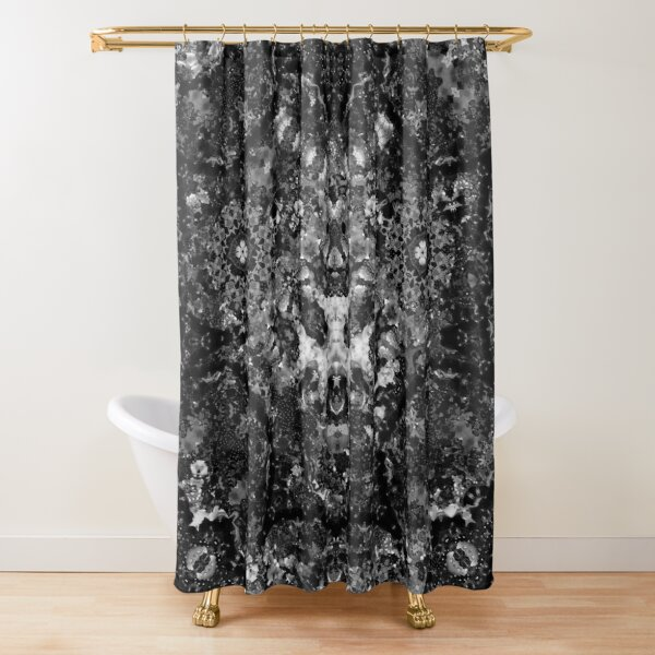 Geometric Emergence Shower Curtain