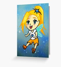 Active Fairy Greeting Card