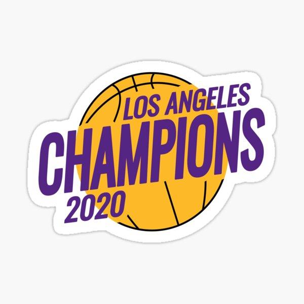 Campeonato de los Ángeles Lakers 2020 Pegatina