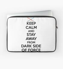 Keep Calm Dark Side Laptop Sleeve