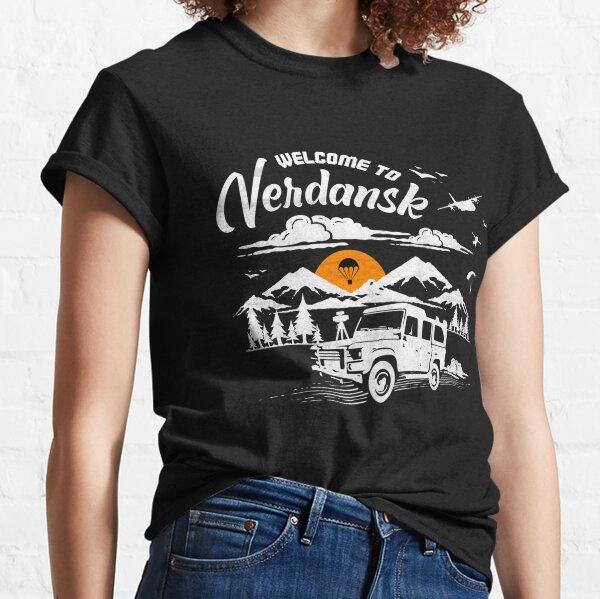 Bienvenido a Verdansk Camiseta clásica