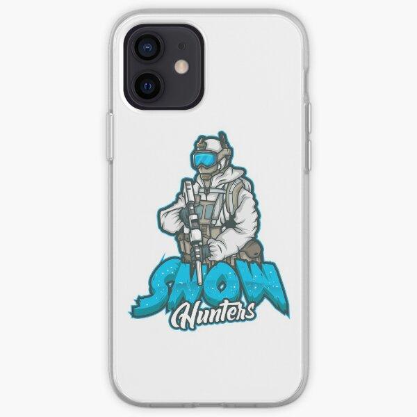 snow hunter  iPhone Soft Case