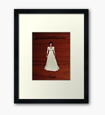 Lizzy Bennet from Pride and Prejudice Framed Print