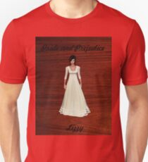 Lizzy Bennet from Pride and Prejudice Unisex T-Shirt