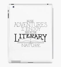 Literary Adventures iPad Case/Skin
