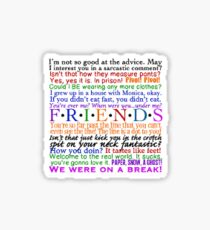 FRIEND Sticker