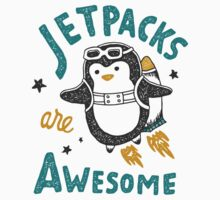 Jetpacks are Awesome Kids Tee